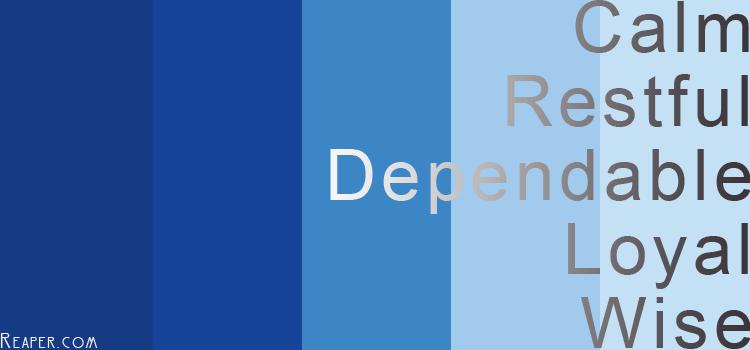 Design choosing the right colours reaper enterprises ltd colour meaning blue publicscrutiny Choice Image