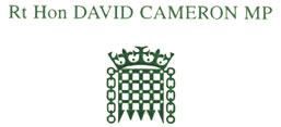 Testimonial from David Cameron MP
