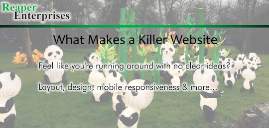Talk // What makes a killer website?