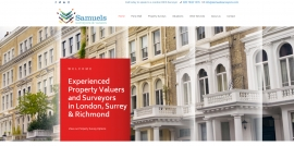 Samuels Suveyors // Website Launch