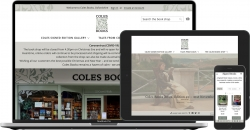 Coles Books // e-commerce site
