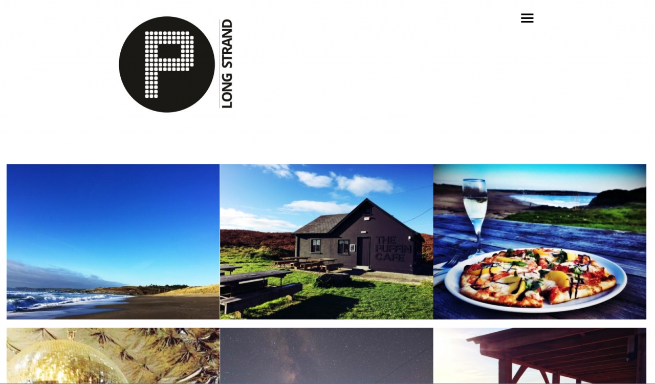 The Puffin Cafe // Website Launch